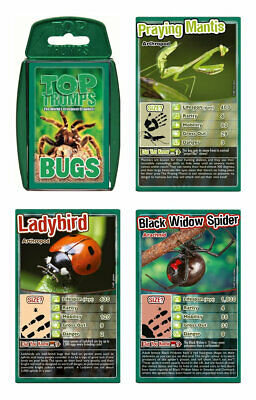 Bugs Top Trumps Card Game • 4.30£