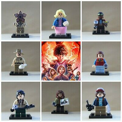 Stranger Things Horror Toys Dustin,Eleven,Will 8 X Mini Figures Collectibles • 12.99£