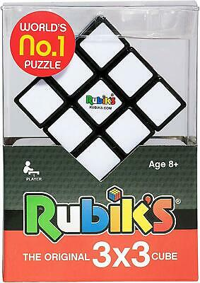 Rubik's Cube 3x3 Puzzle Cube Game With Stand Rubik's Hasbro Toy Original 13051 • 10.99£