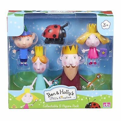 Ben And Holly's Little Kingdom Collectable 5 Figure Pack • 12.88£