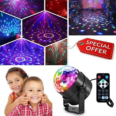 Calming Autism LED Light Sensory Toys Projector Multicolour Ball Lamp USB HQ • 13.86£
