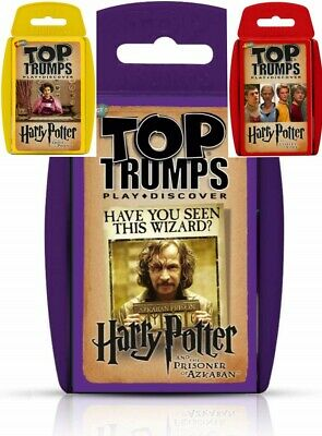 Harry Potter  Top Trumps Choose Your Choice • 4.20£