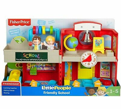 Fisher-Price Little People Friendly School Deluxe Musical Learning Playset Toy • 28.99£