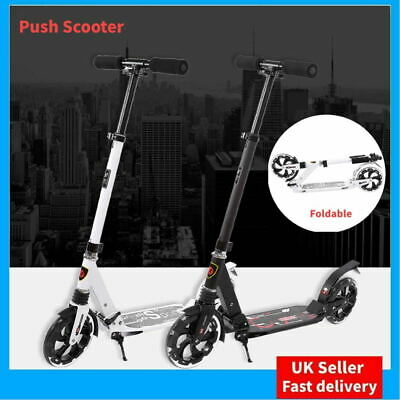 Kids Stunt Push Scooter Adult Big Wheel Folding Grips Pro Trick Ride Skate New • 33.99£