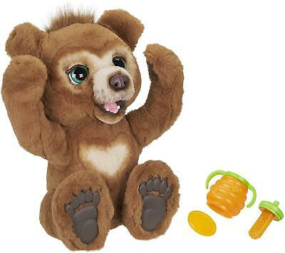Fur Real Friends Cubby The Curious Bear Interactive Plush Cuddly Toy • 74.99£