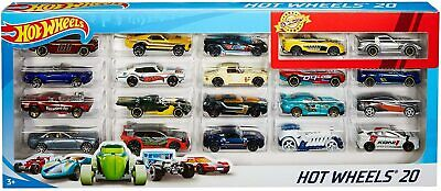 Hot Wheels 20 Pack Cars Set Die Cast Multi 1:64 Scale Toy Car Gift Set  H7045 • 24.99£