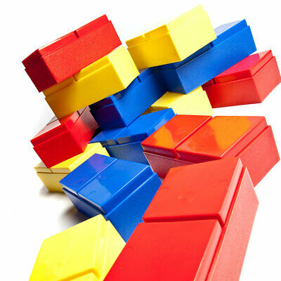 Large Building Bricks For Kids (x48 Piece) Creative Blocks Construction Toys UK • 40.50£