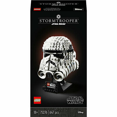 LEGO Star Wars Stormtrooper Helmet Collectors Set 75276 647pcs • 58.95£