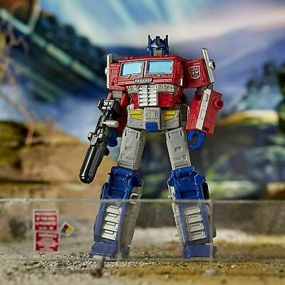 Transformers War For Cybertron Earthrise Leader Class Optimus Prime • 48£