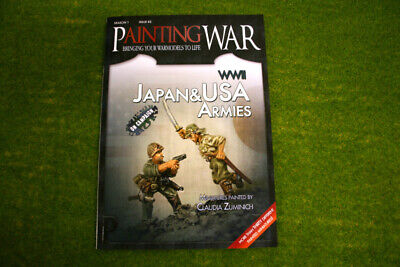 Painting War Issue #3 Wwii Usa & Japan Book/ Magazine • 18.50£