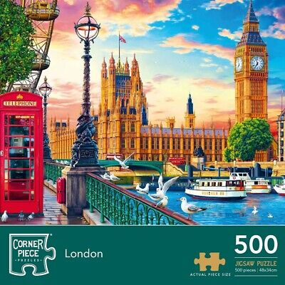 London 500 Piece Jigsaw Puzzle, Toys & Games, Brand New • 7£