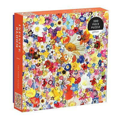 Infinite Bloom 500 Piece Jigsaw Puzzle • 11.99£