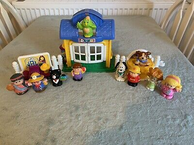 Fisher Price Little People Pet Salon, With Extra Figures • 14.99£