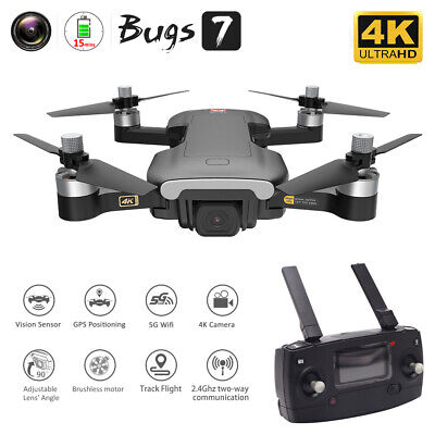 MJX Bugs 7 B7 RC GPS Drone With Camera 4K 5G Wifi Brushless Optical Flow Me • 138.69£