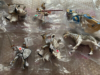 Papo Knight And Horses Bundle Lot 1 • 19.99£