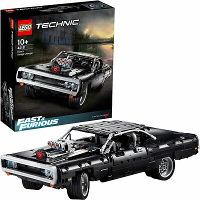 LEGO Technic 42111 Fast & Furious Dom's Dodge Charger 1077pcs Age 10+ • 79.95£