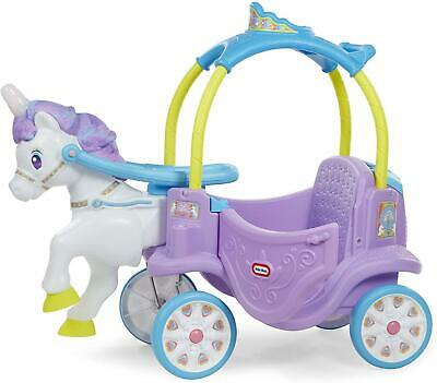 Little Tikes Magical Unicorn Ride-On  Horse Carriage • 129.99£