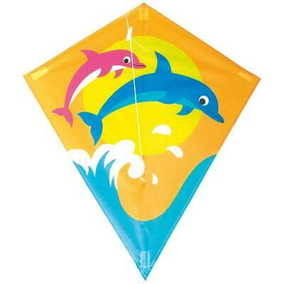 New Breeze Dolphin Kids Junior Outdoor & Garden Kite • 7.20£