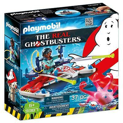 Playmobil - Ghostbusters Zeddemore With Aqua Scooter 9387 • 11.99£