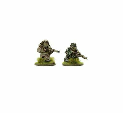 British Snipers In Ghillie Suits Bolt Action Warlord Games 28mm • 5£