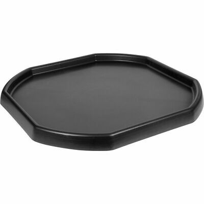 LARGE BLACK PLASTIC MIXING TRAY- Cement, Sand, Kids, Feed, Mixer, Spot, Builder • 16.50£
