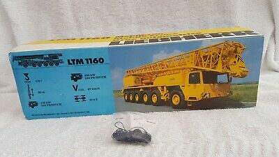 Conrad 1/50 Scale Liebherr LTM 1160 Mobile Crane Sealed Accessories 2062 • 99.99£