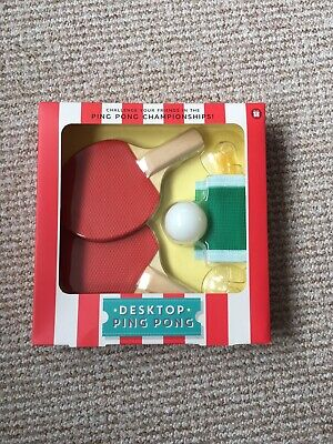 Desk Ping Pong M And S • 4.50£
