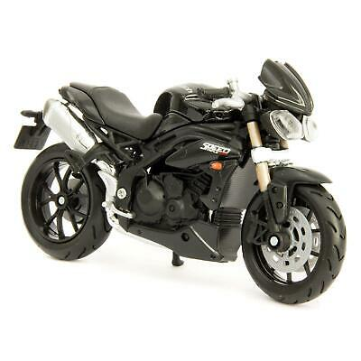 Triumph Speed Triple 2011 - Bburago 1:18 Scale Diecast Model Motorcycle • 11.99£
