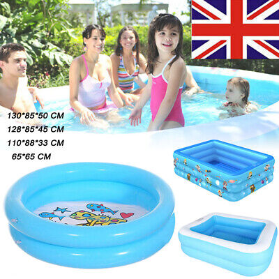 Outdoor Swimming Pool Garden Summer Inflatable Adult Kids Paddling Pools • 22.11£