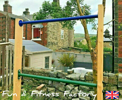Pull Up Chin Up Parallel Bar Outdoor Sports Gymnastics Exersise Made In England • 19.95£