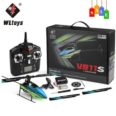 Wltoys V911s Rc Helicopter Remote Control Large Outdoor Airplanes,best Gift! 4ch • 39.59£
