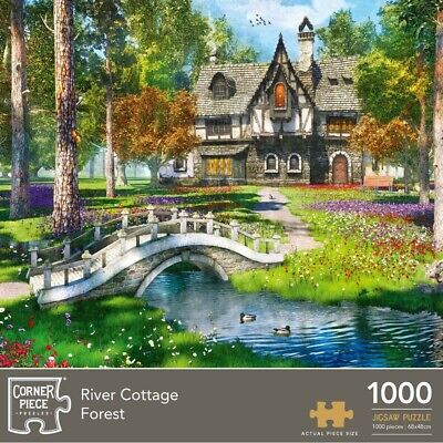 River Cottage Forest 1000 Piece Jigsaw Puzzle, Toys & Games, Brand New • 9£
