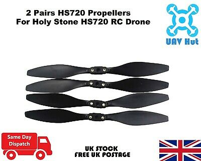 Spare Blades For Holy Stone HS720 RC Drone Quadcopter Propellers Replacement • 12.99£