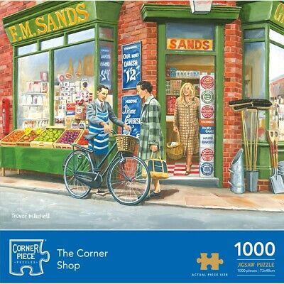 Corner Shop 1000 Piece Jigsaw Puzzle (null), Toys & Games, Brand New • 8£