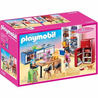 Playmobil 70206 Dollhouse Family Kitchen • 22.99£