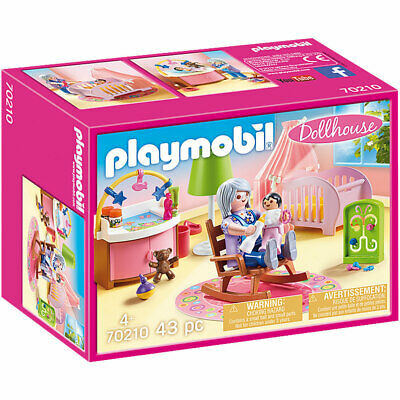 Playmobil 70210 Dollhouse Nursery • 15.59£