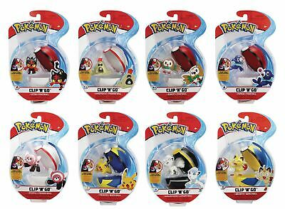 Pokemon Clip N Go New Sealed Choose Your Favourite • 12.99£