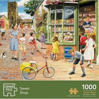 Sweet Shop 1000 Piece Jigsaw Puzzle (null), Toys & Games, Brand New • 8£