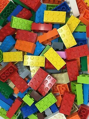 LEGO 100 2x4 Bricks NEW Mixed Colour - Part No 3001 • 16.95£