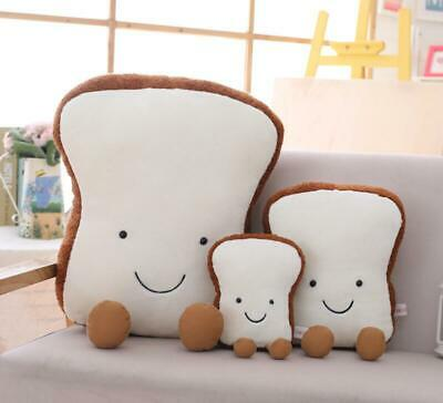 New Plush Toy Doll Doll Toast Bread Cute Pillow Creative Doll Birthday Gift 2020 • 9.66£