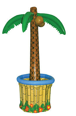 Inflatable Palm Tree Cooler 170cm 6ft Hawaiian Beach Party Decoration (x99 324) • 13.75£