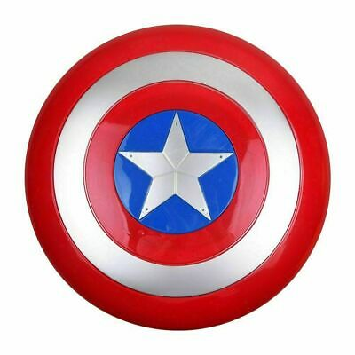 Avengers Captain America Shield With LED Light & Collectible Kids Toy Gift UK • 9.99£
