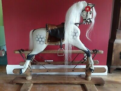 Antique Lines Rocking Horse, EXTRA CARVED £1,350.00. • 1,350£