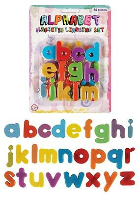 26 Magnetic Letters - Educational Fridge Magnets Alphabet Strong Baby School • 2.99£