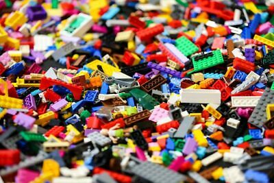 LEGO - 100 Lego Pieces - Mixed Parts / Pieces / Bricks - Bundle Job Lot - Clean • 5.29£
