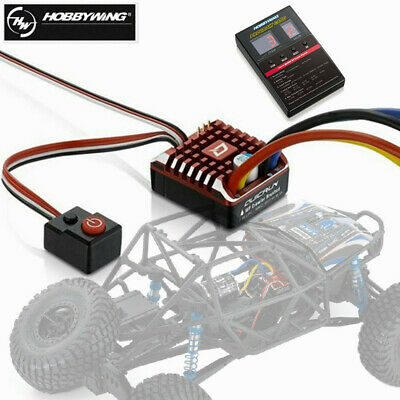 Hobbywing QuicRun 1080 Waterproof Motor Brushed ESC 80A With Program Card • 43.99£