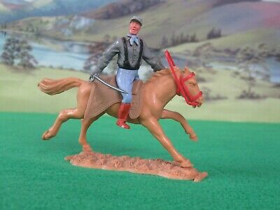 TIMPO Confederate Mounted Cavalry Soldier - Black Braces • 14.99£