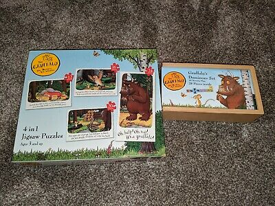 Gruffalo Dominoes And Jigsaws, Excellent Condition • 3.50£