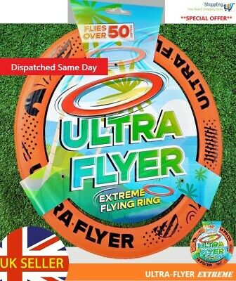 Ultra Flyer - Extreme 10  Pro Flying Frisbee Disc Ring...brand New.. • 8.99£