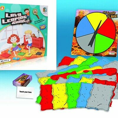 The Floor Is Lava Interactive Board Game For Kids Adults Gift ( Ages 5+ ) Fun • 10.95£